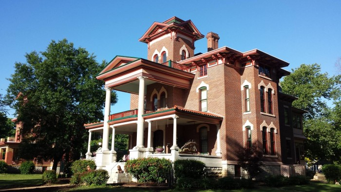 2.) Spend a weekend at a historic Kansas Bed and Breakfast.