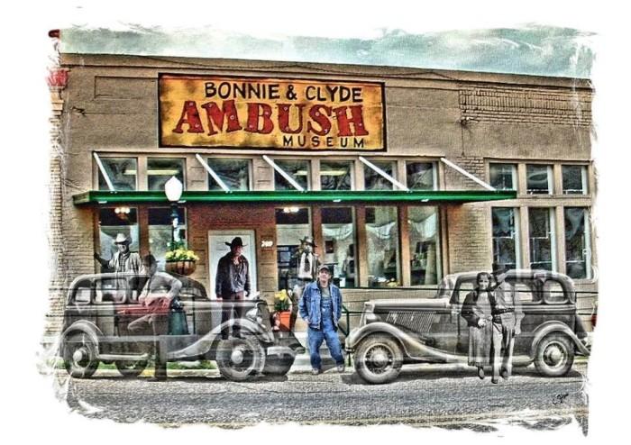 6) Bonnie and Clyde Ambush Museum, Gibsland, LA