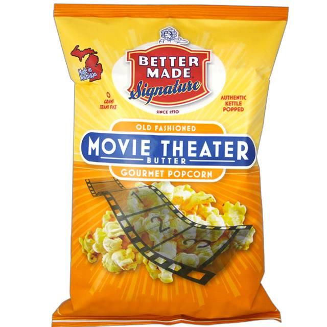 Sometimes, we prefer popcorn instead.