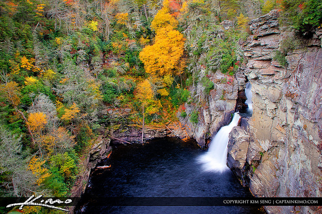 1. Linville Falls, Blue Ridge Parkway