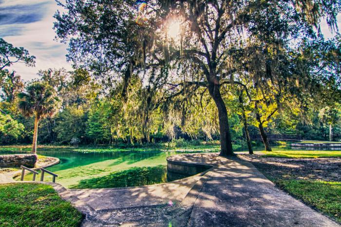 1. Rock Springs, Kelly Park