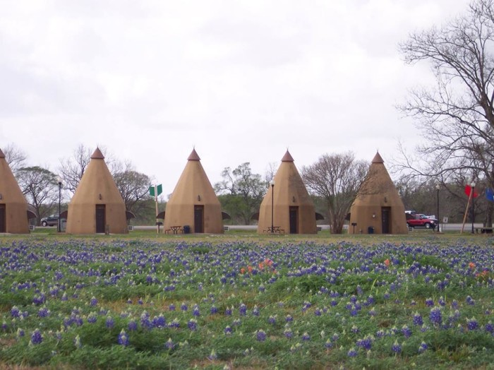 1) The Teepee Motel (Wharton)