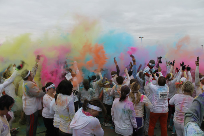 9. Get colorful for a cause at the Color Run on July 11.