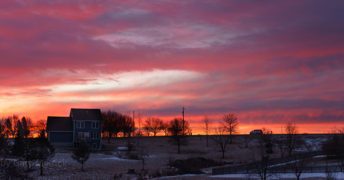 10. Just another breathtaking Iowa morning