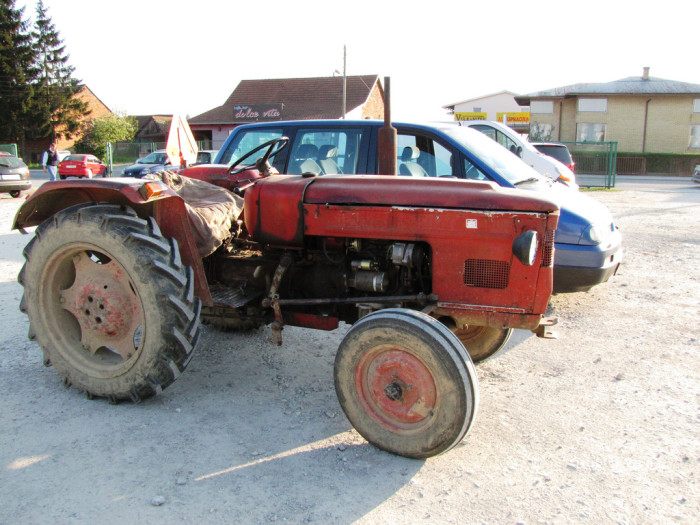 10. It wasn't unusual to see someone's tractor parked in the school parking lot.