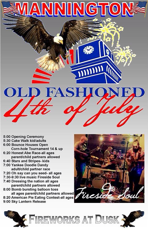 12. Mannington's Old Fashioned 4th of July