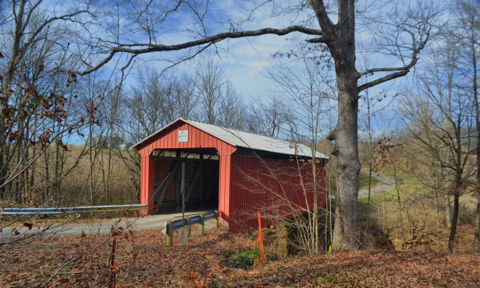 18) Bell Road covered bridge (Washington County)