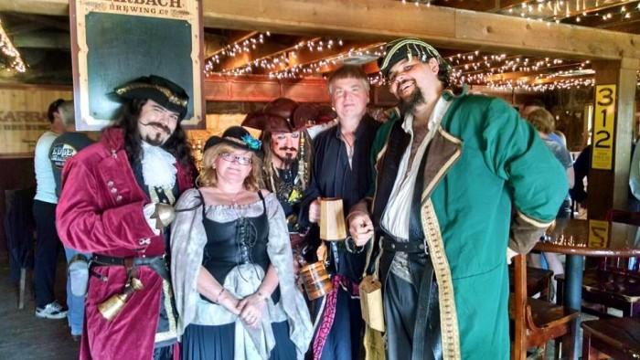 3) The Texas Renaissance Festival in Todd Mission (Oct 10-Nov 29) where you can dress up in medieval clothing, watch jousting tournaments, and eat and drink like a king (or queen).