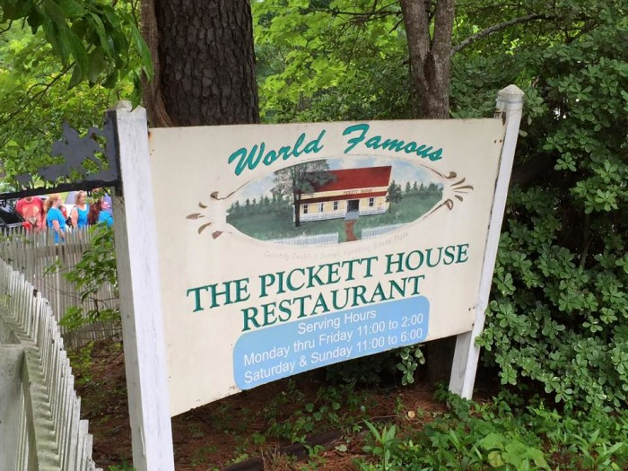 10) The Pickett House (Woodville)