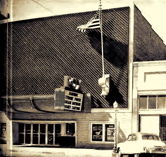 10.) Fox Theater in Winfield (c. 1950's)
