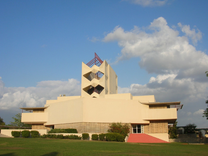 8. Campus Buildings Designed by Frank Lloyd Wright
