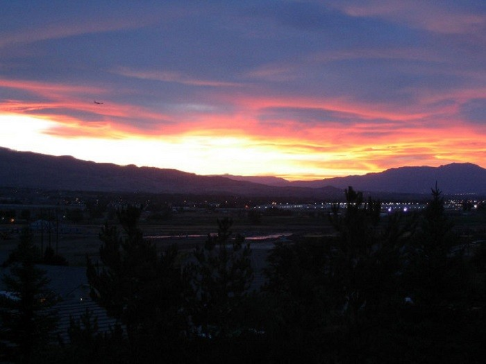 10. Sunset in South Reno, Nevada
