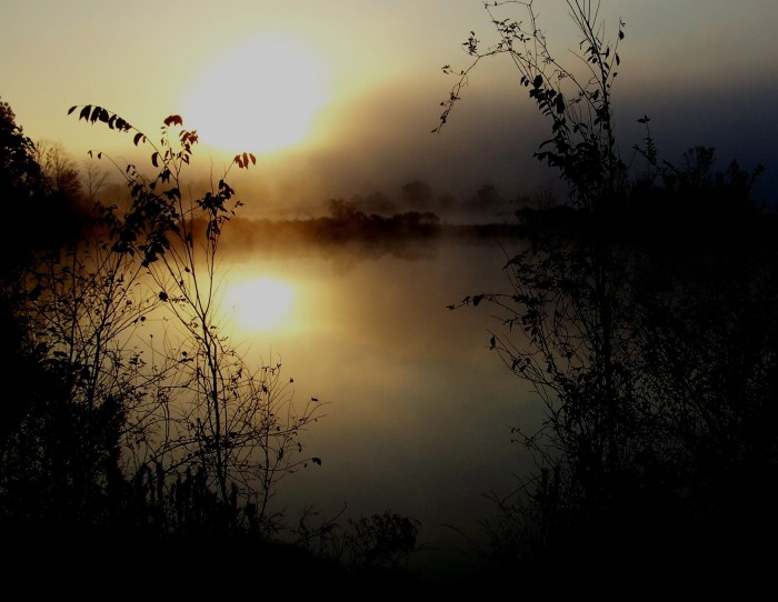 "11. ""Sunrise Through the Mist"""