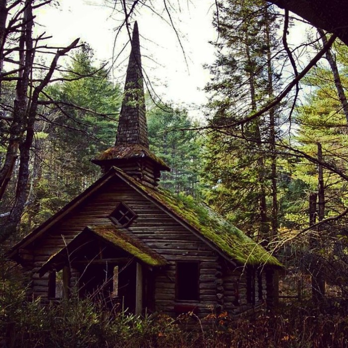 12) Mossy old church of some kind in an undisclosed location