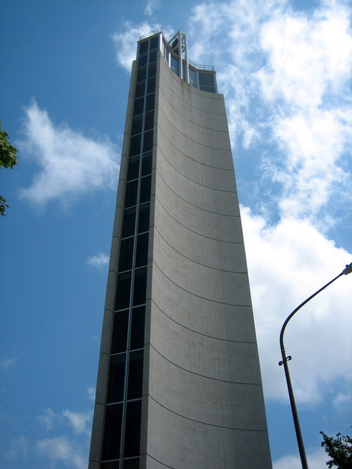 9. Climb to the top of this giant bell tower