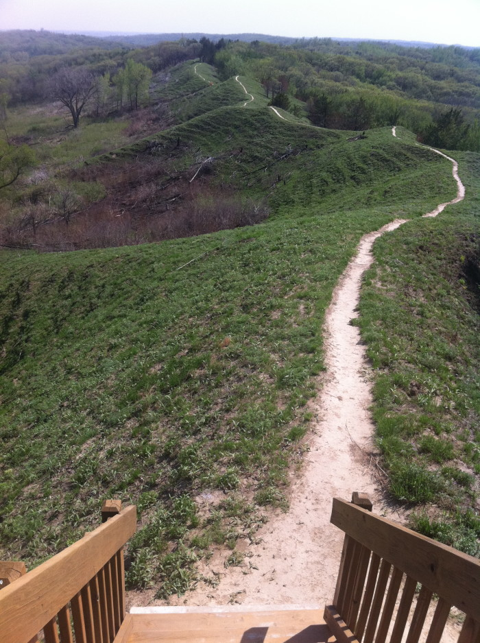 11. Preparation Canyon State Park in Moorhead.