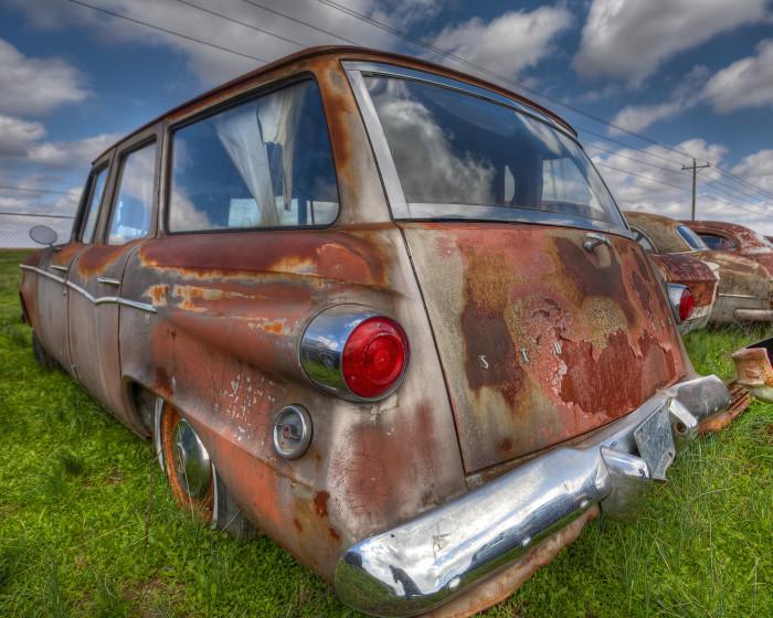 "12. ""Rusty Studebaker Lark"""