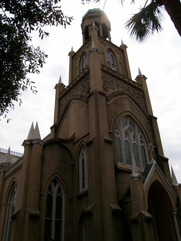 11) Congregation Mickve Israel in Savannah, GA