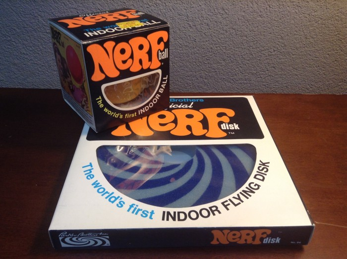12 The Nerf ball! Supposedly indoor safe but kids will always find a way to break things!