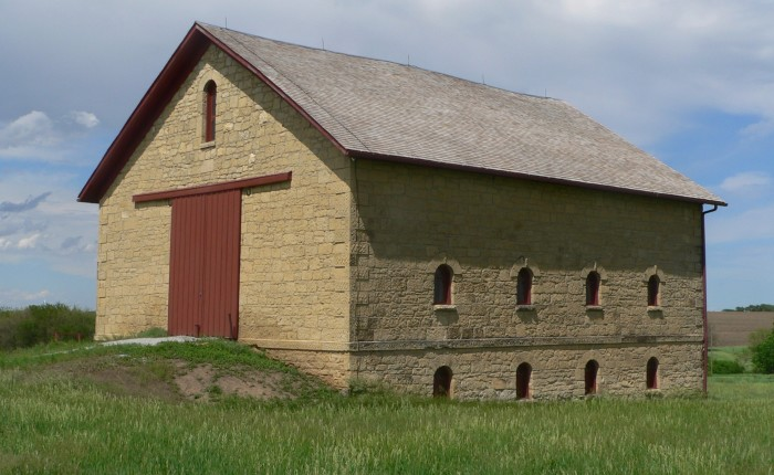 16. The Historic Elijah Filley Stone Barn, Gage County