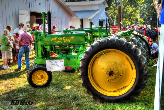 3.) The Farming Dad: Southeast Kansas Old Time Gas Engine and Tractor Show (Pittsburg)