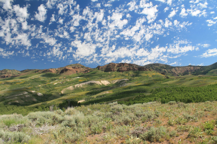 1. Jarbridge Wilderness in Elko County, Nevada