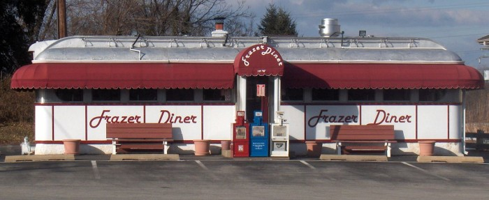 9. Every decent outing either begins or ends at the diner.