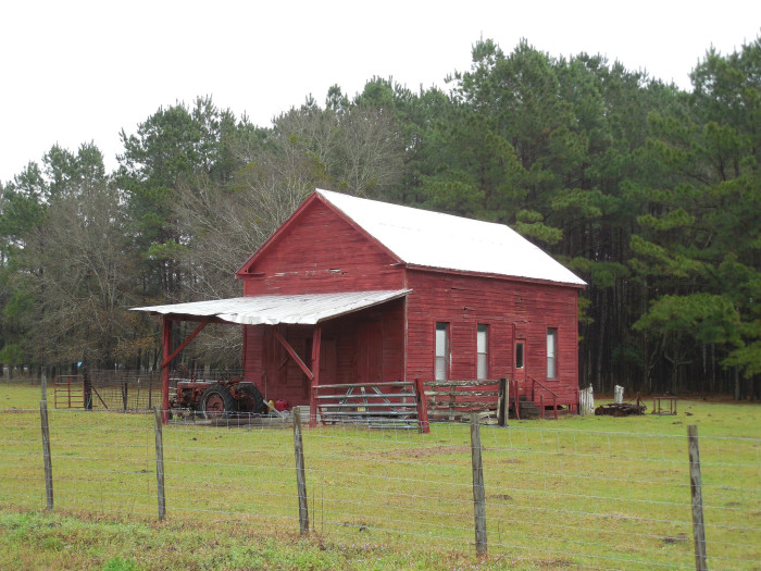 3. Red Barn Near Japser, FL