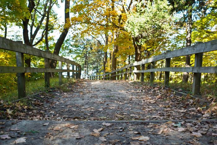 12. Palisades-Kepler State Park in Mount Vernon.