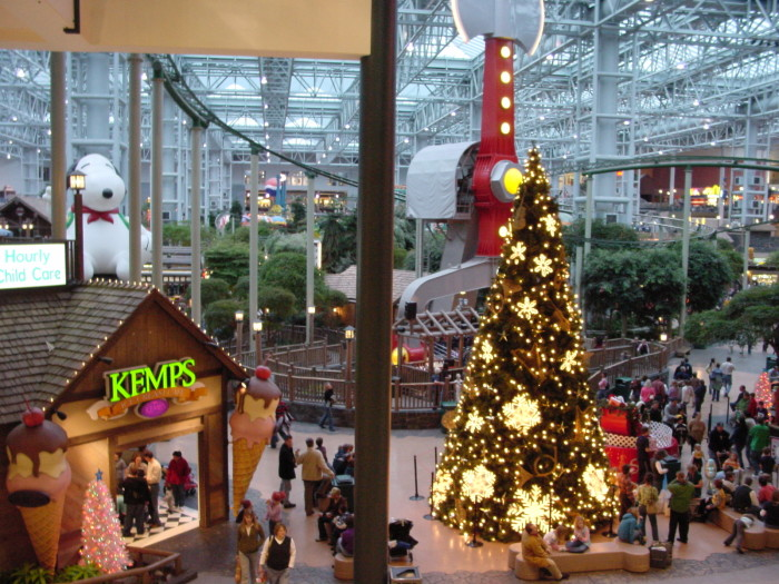 1. Mall of America - Seen in Jingle All The Way (1996).