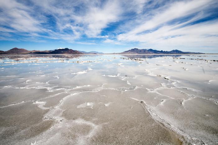15) Bonneville Salt Flats