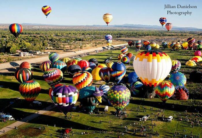 4) The Great Texas Balloon Race in Longview (July 21-26) where you can watch dozens of hot air balloons grace the Texas sky.