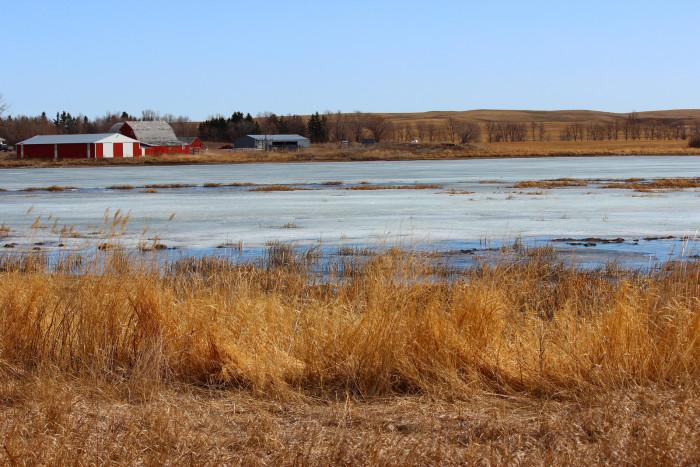 2. Such a calming area in Logan County, North Dakota.