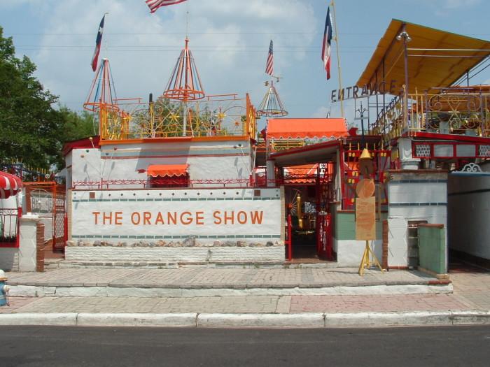 3) Orange Show (Houston)