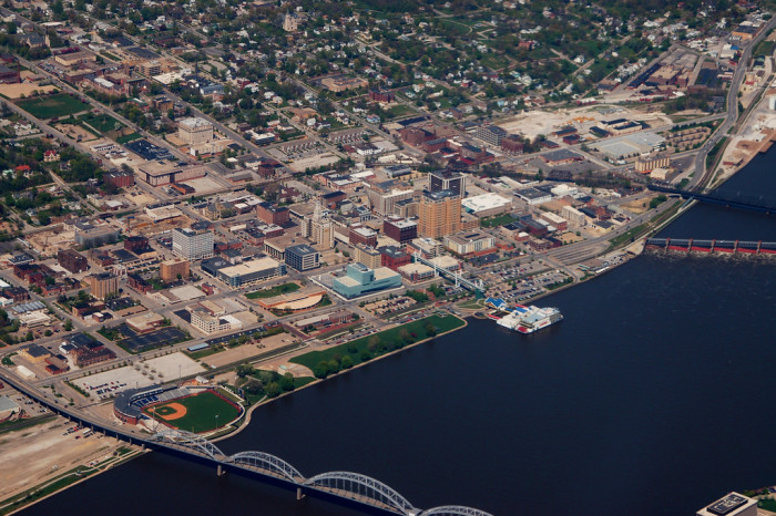 12. Davenport/Bettendorf was named the most affordable metropolitan area