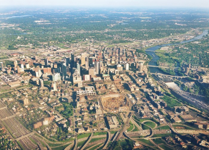 2. Minneapolis, also fairly obvious.