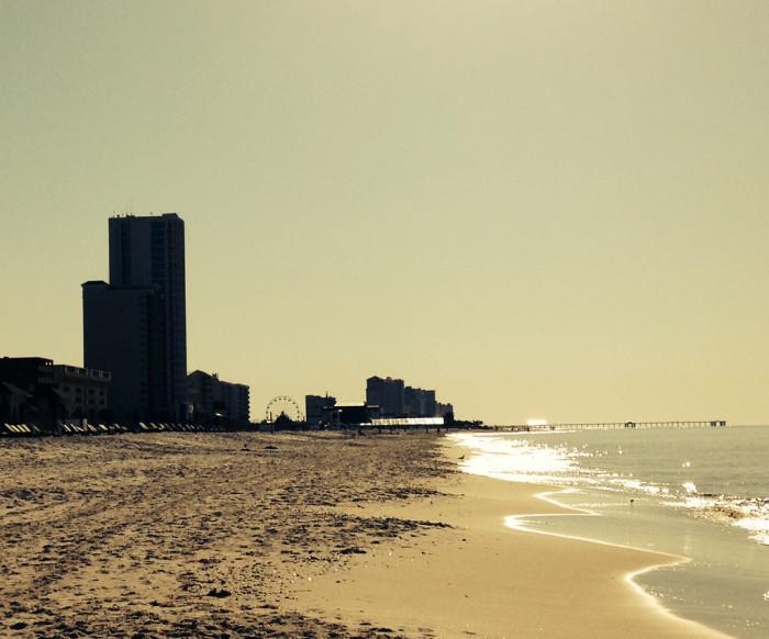 9. Gulf Shores Beach