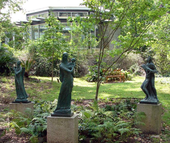 10) Umlauf Sculpture Garden (Austin)