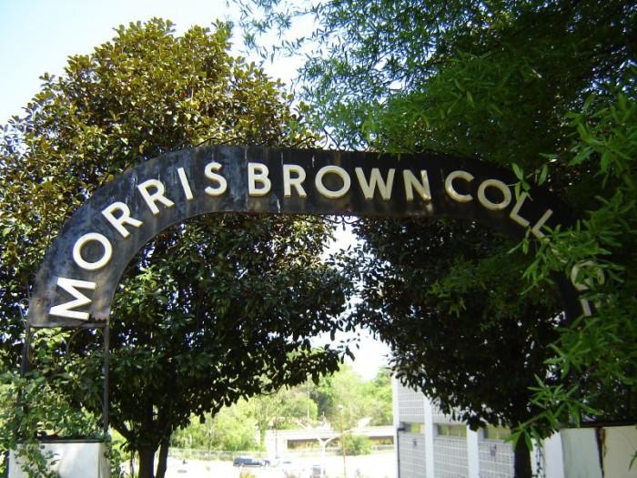 "3) Morris Brown College in ""The Walking Dead"""