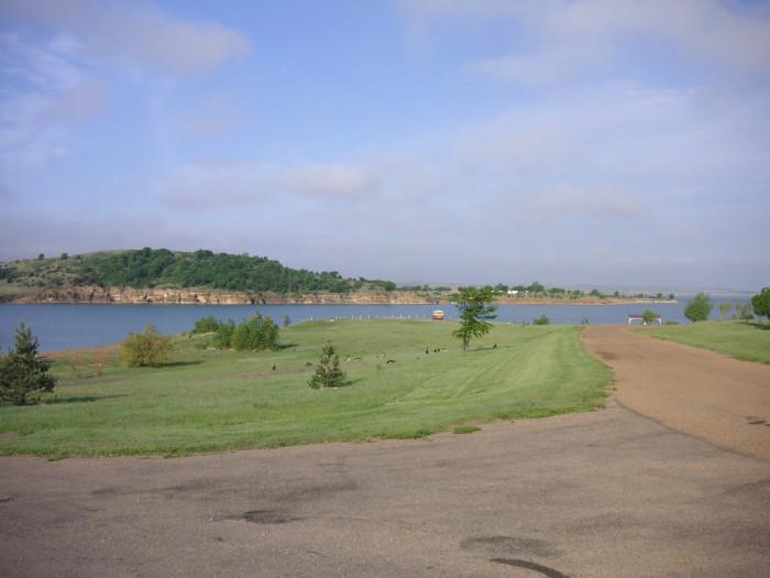 4.) Wilson Lake State Park