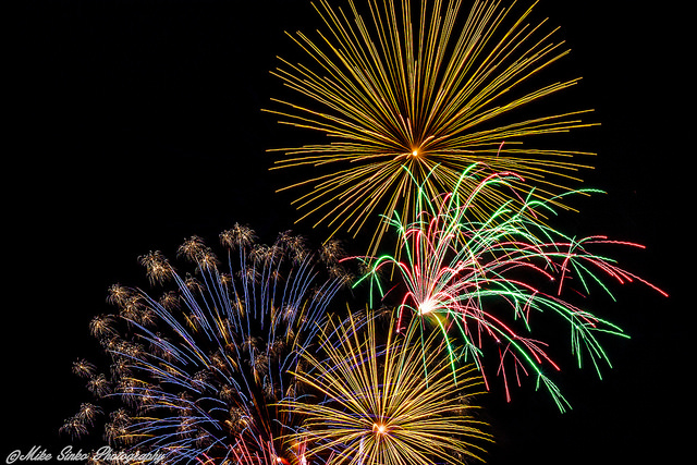 11.) Cortez Rotary Fireworks Display