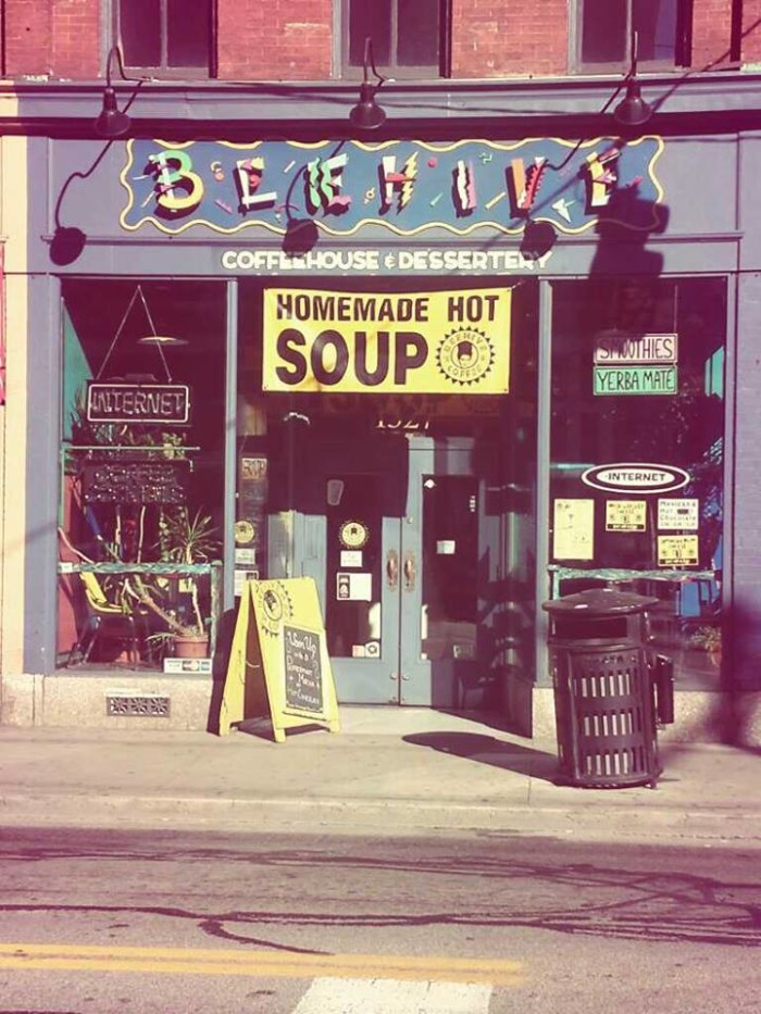 5. Beehive Coffeehouse & Dessertery, E. Carson St, Pittsburgh
