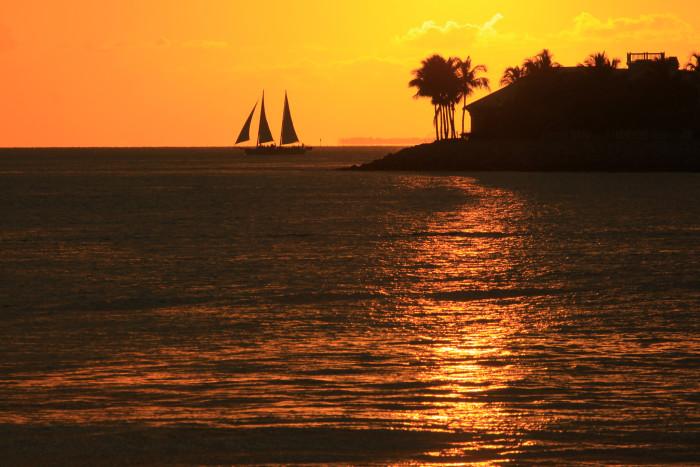 5. Postcard Sunsets