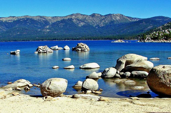 14. Sand Harbor at Lake Tahoe