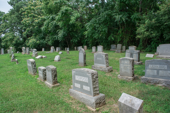 8. Badwell Cemetery, McCormick, SC