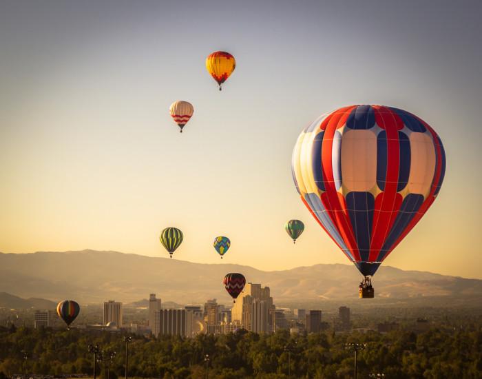 10. Great Reno Balloon Race in Reno, Nevada