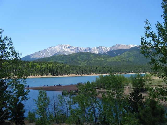"""12.) Katherine Lee Bates wrote """"America the Beautiful"""" after seeing Pikes Peak."""