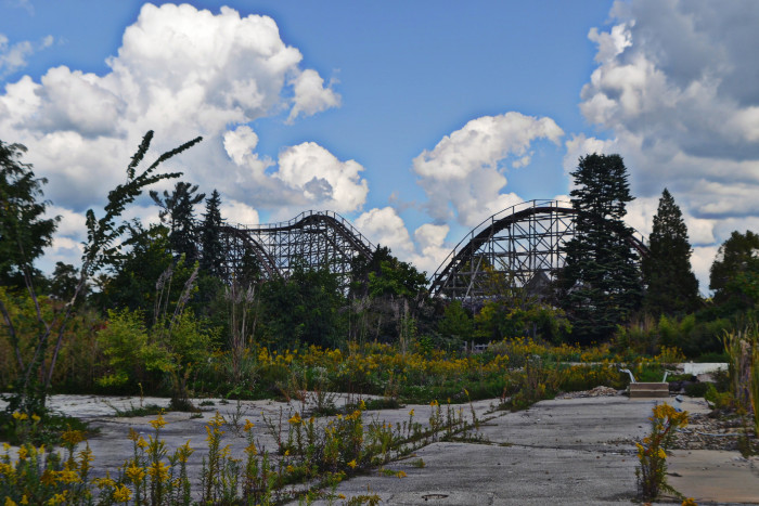 8) You remember when this was once the thriving Geauga Lake Park, where a lot of your family vacations took place.