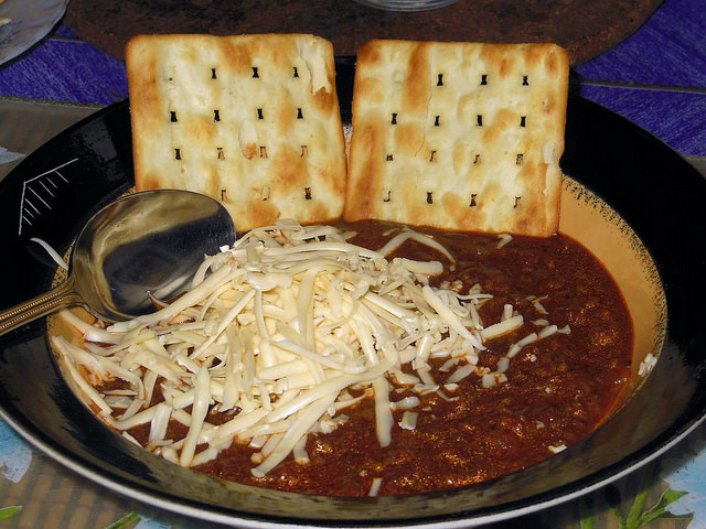 7) Texas chili...because we know beans definitely don't belong in chili.