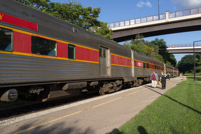 4) Cuyahoga Valley Scenic Railroad